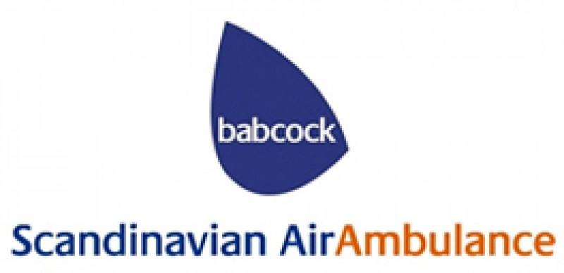 Babcock Scandinavian AirAmbulance logotyp