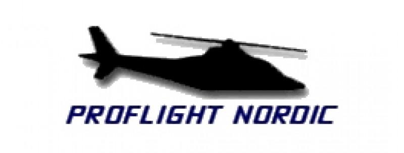 Proflight Nordic logotyp